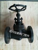 精品優質A105發黑碳鋼J41H/Y-16/25/32/40/64C/150LB/300LB/600LB鍛鋼法蘭截止閥 J41H-64C