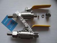 精品BW¢14-FT¢8  304SS不銹鋼卡套式轉對焊式氣源球閥 Q21F-64P