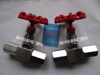 精品JJM1-160P JJM8-160P DN5 304SS不銹鋼壓力表截止針型閥 JJM1 JJM8