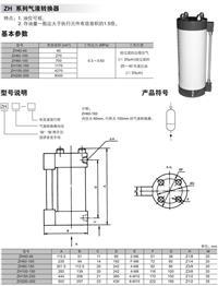 ZH200-300,ZH150-250,ZH100-150,ZH80-150,ZH60-100,ZH40-40 上海国逸气动成套厂有限公司 63060127 ZH200-300,ZH150-250,ZH100-150,ZH80-150,ZH60-100,ZH