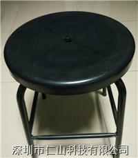防静电注塑圆凳 防静电发泡凳子、无尘室专用防静电圆凳、无尘车间专用防静电圆凳