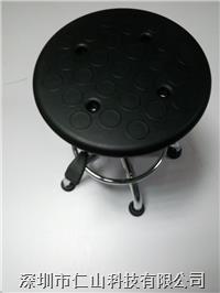 防静电升降凳 防静电升降塑胶圆凳、防静电PU发泡圆凳、防静电PU皮革升降圆凳