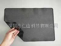 黑色硅胶防滑垫、黑色无痕防滑垫、深圳无痕硅胶防静电防滑垫