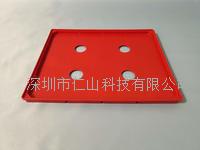 防静电托盘 红色耐高温周转盘180度 RST-012