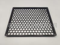耐高温黑色周转盘LCM防静电托盘 RST-012-6 黑色防静电托盘
