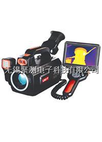 優利德UTi640B分離式遙控手柄設計,集成5寸超大液晶顯示屏熱成像儀,原裝進口640x480探測器,提供超過30萬個可響應單元 UTi640B