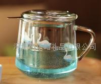 晶钻耐热玻璃茶隔杯 C786-45