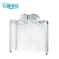 深圳云峰凈化百級防靜電潔凈無塵棚