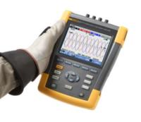 Fluke 438-II电机效率和电气性能综合测试仪