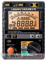 3126数字式高压高压兆欧表5KV  3126