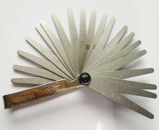 現貨德國Phoenix鳳凰厚薄規25410002厚薄片0.05-1.0mm共13片塞尺