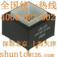 日本NKK开关现货UB25SKG03N按钮开关接线图Switches进口按钮开关型号UB-25 UB25SKG03N