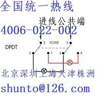 上海现货NKK开关M-2022P4六脚钮子开关接线图日开Nikkai进口钮子开关日本Switches