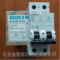 63A微小型断路器5SJ62西门子SIEMENS 5SJ6 263-7CC20