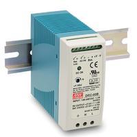 导轨安装直流可调开关电源明纬UPS DRC-60A
