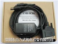电缆,MR-J3ENSCBL5M-L,USB-SC09,SC-09 电缆,MR-J3ENSCBL5M-L,USB-SC09,SC-09