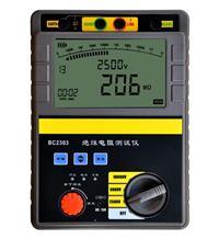 数字绝缘电阻测试仪 BC2303