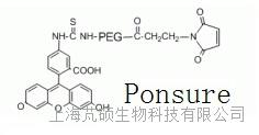 荧光素PEG-马来酰亚胺