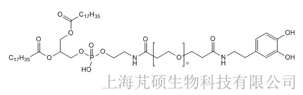 磷脂PEG多巴胺,DSPE-PEG-Dopamine