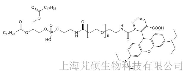 磷脂PEG罗丹明,DSPE-PEG-RB