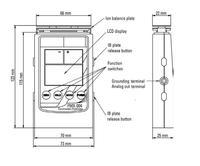 思美高Simco FMX-004 静电场测量仪